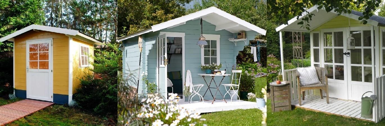 Садовые домики из бруса